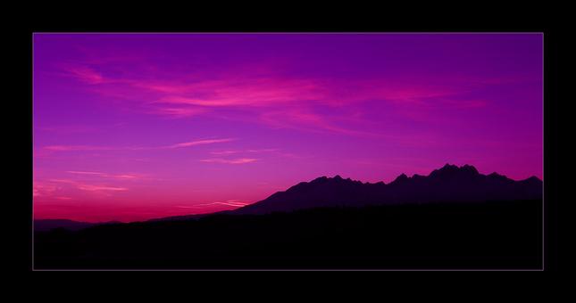 Ružový západ