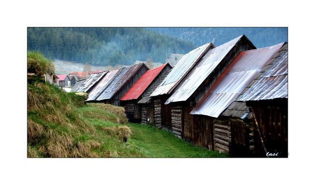 drevené stodoly