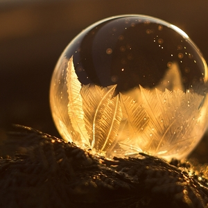 Keď zamŕza bublina