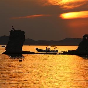 Západ slnka v Sukošane