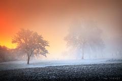 Keď slnko do hmly nakuklo ...