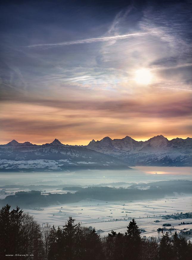 Tam, kde sa jazero v hmle nestra