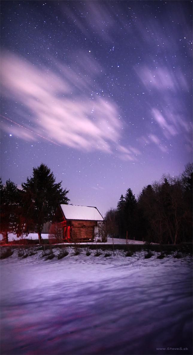 Tam kde noci spú plné hviezd ...