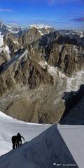 Okolie Mont Blancu z Aquile de M