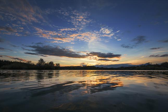 Liptovský západ slnka
