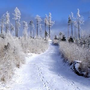 chodníček k zimnej nálade