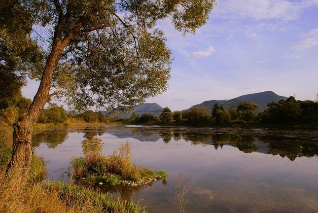 septembrový rybník