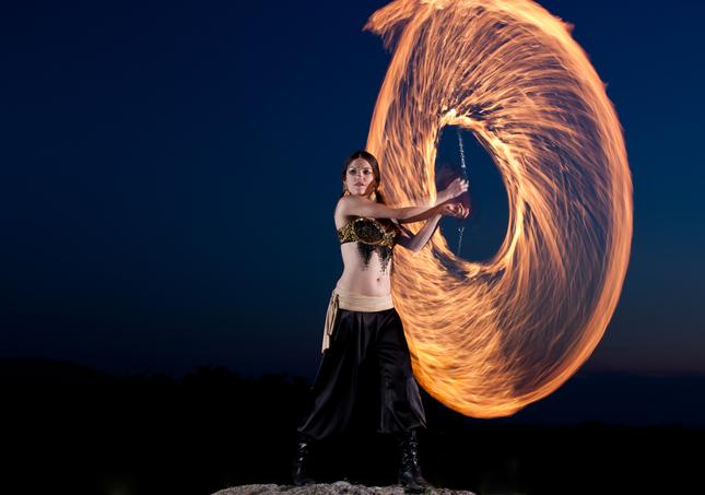 ..hratky s ohnom