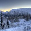 Zima pri Nordfjorde