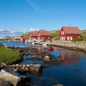 na ostrove Eigerøy