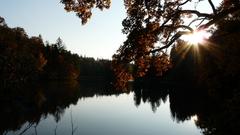 jesen nad jazerom