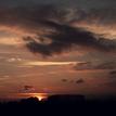 A dnešný západ slnka.