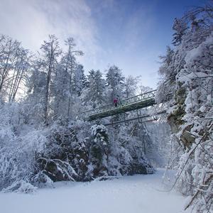 Zima v Prielome Hornádu