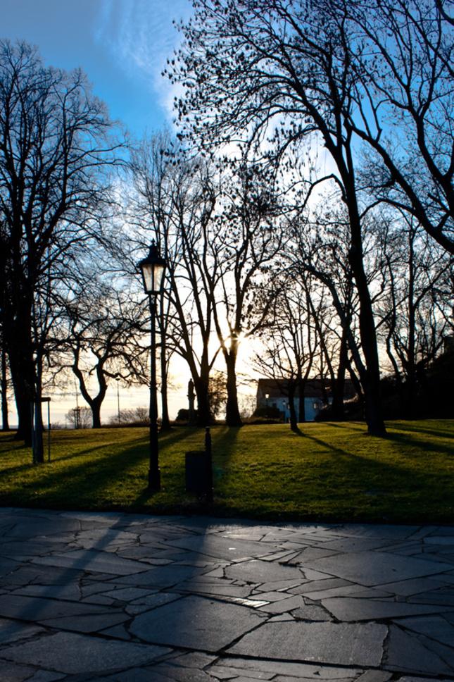Park pod hradom