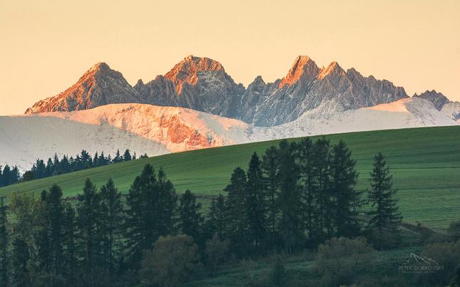 Krajina hôr.