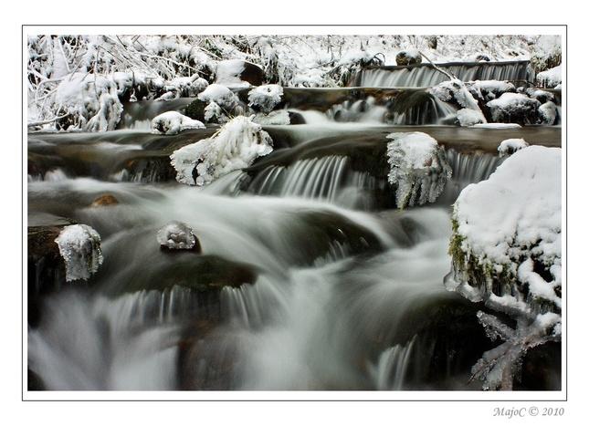 Stránska dolina v zime