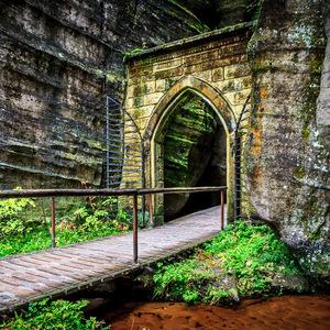 Adršpašské skály – Gotická brána