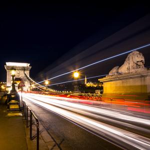 Budapešť s Reťazovým mostom