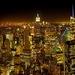 Nočný vyhliadka na Manhattan