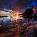 Západ slnka na Riomaggiore