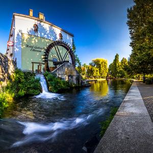Vodný mlyn v Tapolca