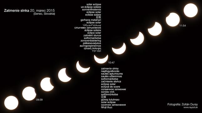 Čiastočné Zatmenie Slnka 2015