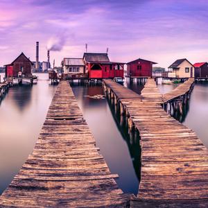 Malé rybárske domčeky