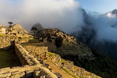 Ráno na Machu Picchu II.