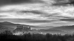 Beckovský hrad na svitaní IV.