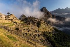 Ráno na Machu Picchu