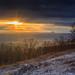 Západ slnka z Tematína