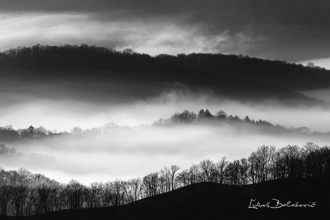 Ranné hmly na Inovci