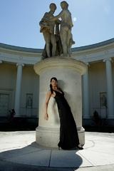 V tieni sochy
