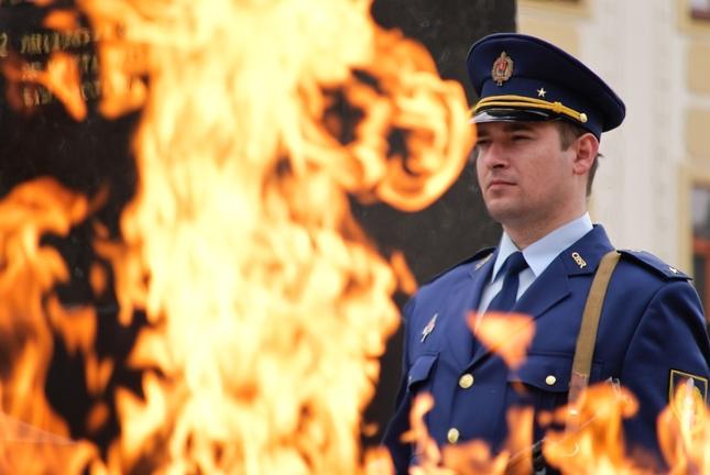Vojak v ohni