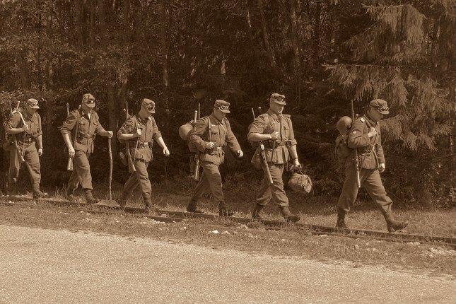 Wehrmacht na pochode