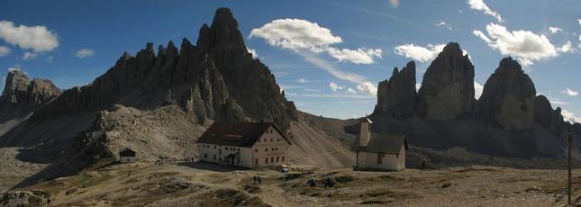 Panoráma v Dolomitoch