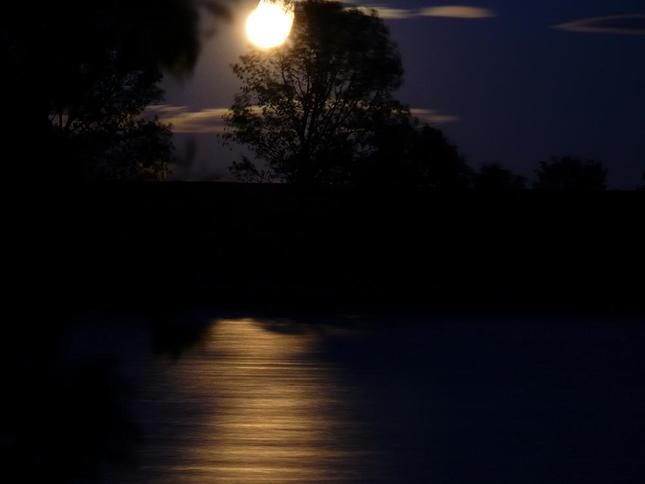 Krátko po východe mesiaca