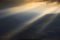 Ráno pod Sivým vrchom