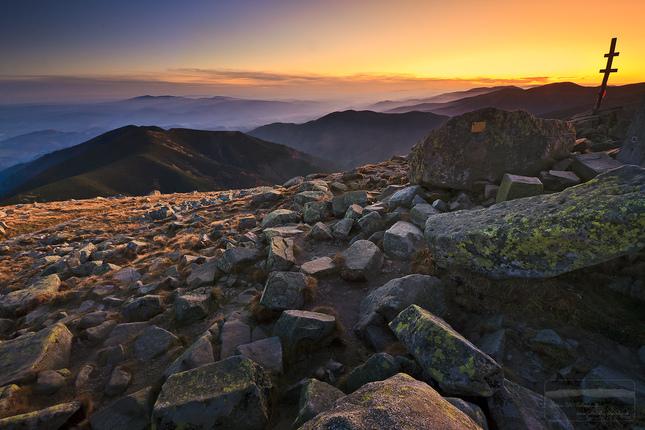 NT po západe slnka