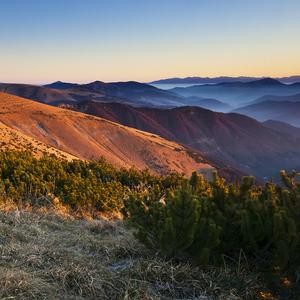 Ráno na hrebeni