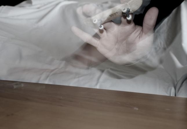 close up finger