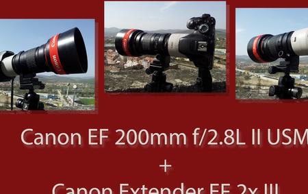 Prvé dni s Canon Extender EF 2X III