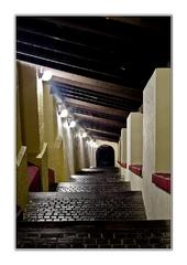 Hradné schody ...