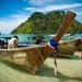 Tradičné thajské loďky