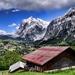Alpská dedinka