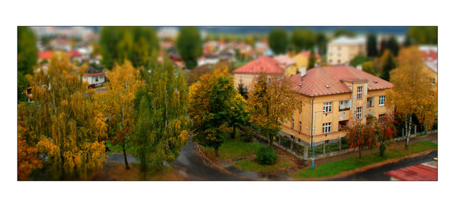Jesenný Tilt and Shift 2