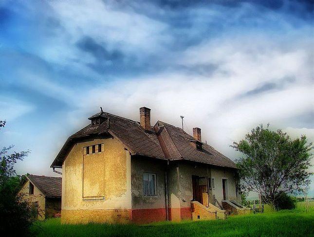 železničný dom...