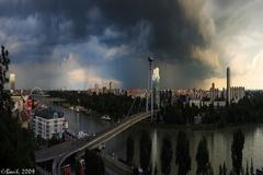 Búrka v petržalke