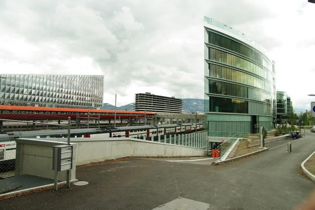 železničná stanica Geneva