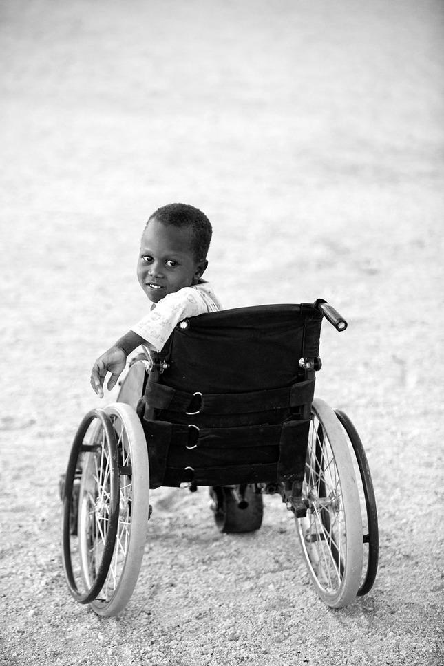 Disabled children centre